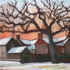 A painting byMike Thody, one of the artists to be featured at the Hempstead Arts Exhibition and Sale.