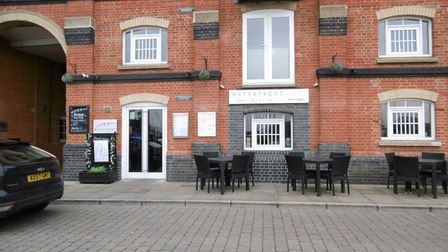 Waterfront Bar Bistro offers great views of Ipswich's marina