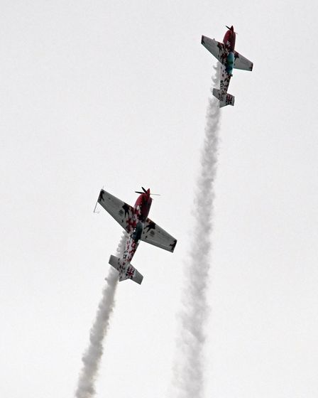 Crowds enjoyed an impressive air display at the Gransden Air Show.