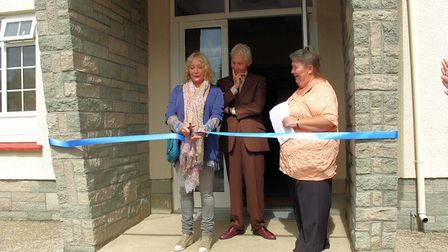 Charlie Watts and Shirley Watts re-open Dolton Village Hall in 2011