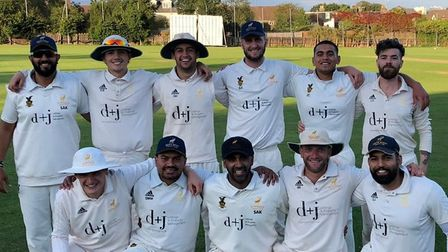 Hitchin Cricket Club's first team have been crowned as champions in Division One of the Herts Cricket League.