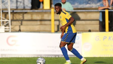St Albans City's Devante Stanley was taken to hospital after suffering a serious injury at Tonbridge Angels.