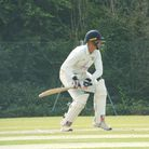 Braunton in batting action against Exeter