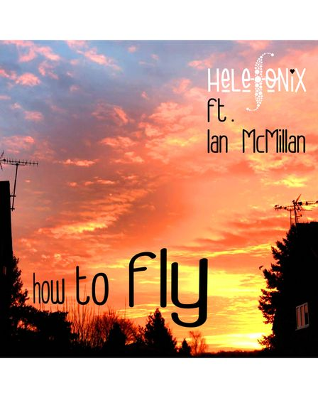 Helefonix ftIan McMillan artwork for How To Fly.