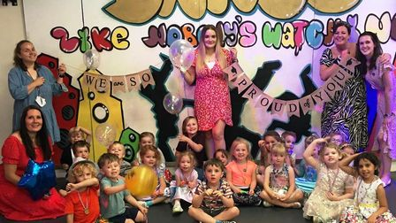 PICTURES: Portishead nursery holds graduation ceremony.