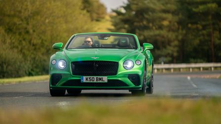 Bentley Continental GT Convertible combining comfort, practicality and performance with panache