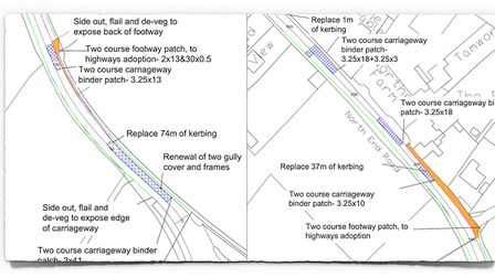 Yatton's B3133 to close for a week for major improvements.