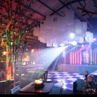 The Cow Shed had been converted into a jazz club.