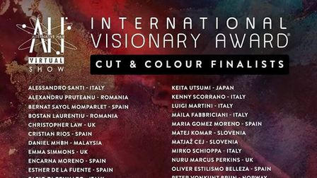 The Cut and Colour Finalists for the International Visionary Award