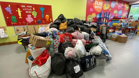 St Albans residents have come forward with donations for Afghan refugees.