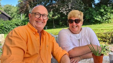 Neil Worrell and Vicky Pritchard-Davies, founders of Lighting Up Brixham