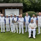 Townsend Bowls Club claimed the Bob Vise Trophy by beating Potters Bar at North Mymms.