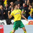 Timm Klose of Norwich celebrates scoring his sides late equalising goal during the Sky Bet Champions