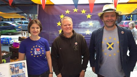 St Albans for Europe spoke to Remainers at St Albans market