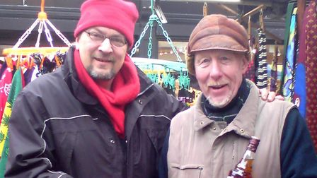 Left to right: Jeff Smyth and Kevin McGlue