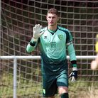 Aston Oxborough of Norwich in action during the friendly match at Kampfbahn Schwansbell, Lunen Pict