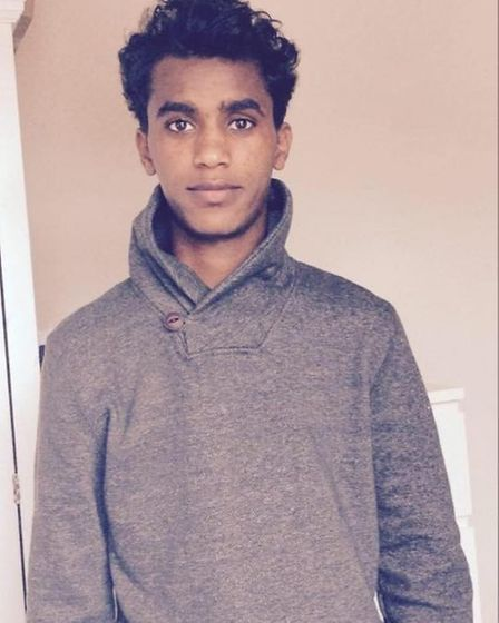 Bereket Kudus has lived in Norwich since 2014 after fleeing from Eritrea