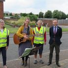 The North Norfolk Sing Your Heart Out group hosted several outdoor sessions