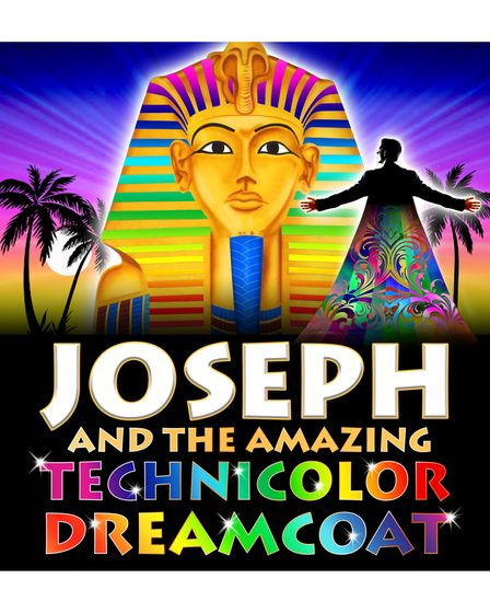 Joseph and The Amazing Technicolor Dreamcoat poster.