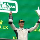 Williams driver George Russell from Wisbech finished second at the Belgian Grand Prix