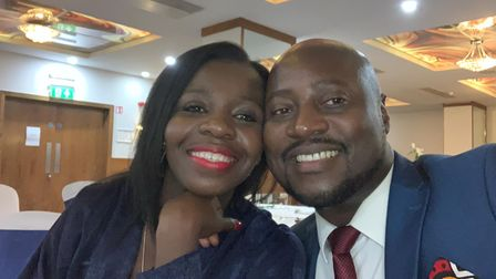 Shammie and Norbert NyanBedvu from Ipswich will be on the Channel 4 show