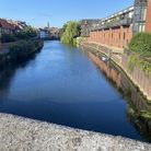 A general view of the River Wensum near to St Edmunds Wharf in Norwich.