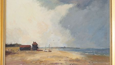 Lookout Aldeburgh by Marcus Ford