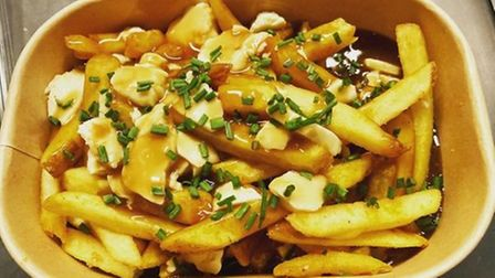 Poutine from Down And Oot in Southport Market