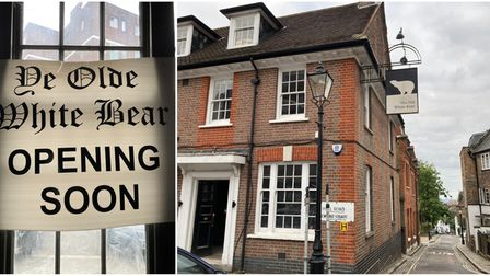 The Old White Bear has been shut for more than seven years