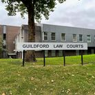 Guildford Law Courts where Dane Messam was due to appear for a bail hearing