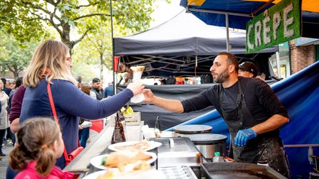 St Albans Food and Drink Festival 2018. Picture: Stephanie Belton