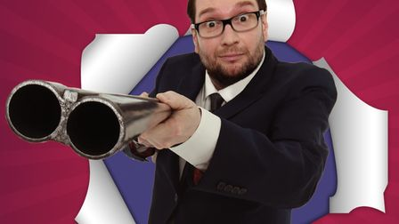 Comedian Gary Delaney is bringing stand-up to Gorleston's Ocean Room