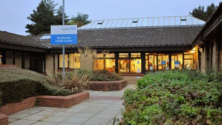 Opening of the refurbished Bowthorpe health centre. Photo: Bill Smith