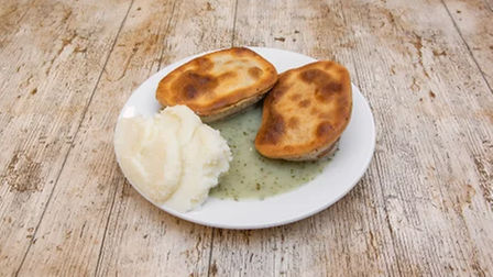 Double F Cooke pie and mash.