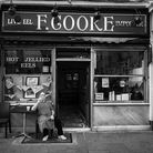"""Owner of the Broadway F Cooke shop, Robert """"Bob"""" Cooke before it shut in 2018."""