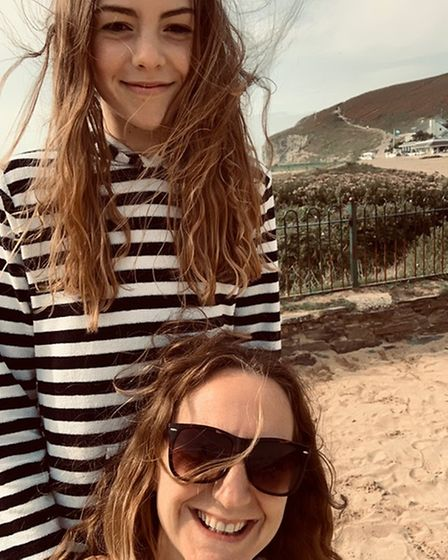 Milly, 12 and mother Laura Hodges from Norwich talk about sustainable fashion.