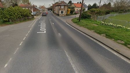 A garage in the garden of a home on London Road in Blythburgh was targeted.
