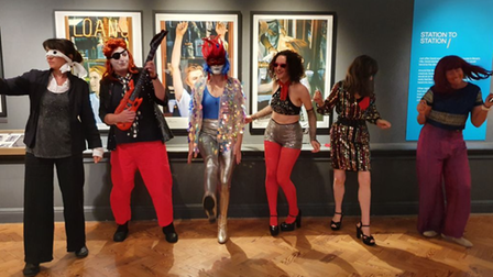 Are you more of a Ziggy Stardust or an Aladdin Sane? Be David Bowie costume ready for an exhibition at Brighton Museum.