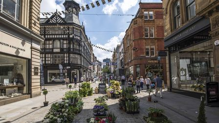 King Street is one of Manchester's few pedestrianised areas