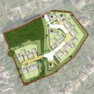 Brunelcare and St Peter's Hospice's masterplan for Trendlewood Way.