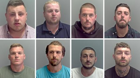 Eight Great Yarmouth men have been jailed in relation to cocaine supply group