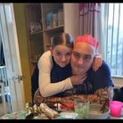 12-year-old Talia Lacey and her dad Ben Lacey from Thetford
