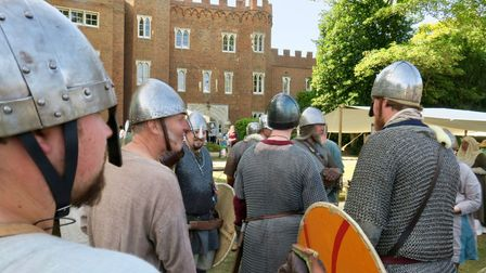 There will be reenactors at the Hertford Castle Heritage Day.
