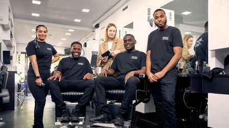 Mastercard, at SliderCuts Barber Shop, havecreated a safe space wherepeople can learn about tech a