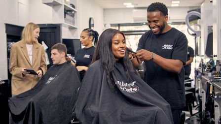 SliderCuts on Hackney Road is giving away free haircuts and money advice.