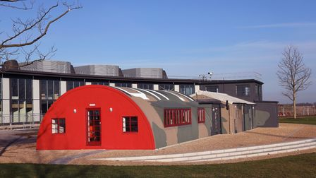The converted Watch Office at the former Alconbury airbase.