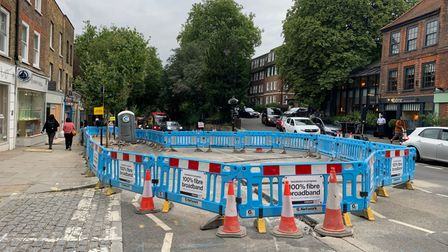 G.Network barriers Hampstead