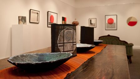 New show at The Mandell's Gallery Abstract Japan.