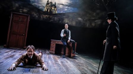 The Hound of the Baskervilles can be seen on stage at Cambridge Arts Theatre.