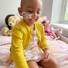 Esha, 4, is still searching for a stem cell match for a life-saving bone marrow transplant